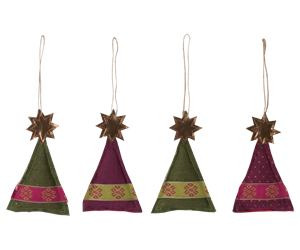 Maileg / Christmas tree ornaments / 4 assorterede