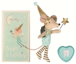 Tooth fairy big brother mouse med metal box fra Maileg - Tinashjem