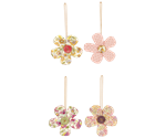 Maileg / Flower ornament / 4 assorterede