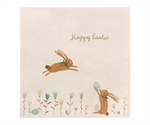 18-9102-00 Napkin Happy Easter Field fra Maileg - Tinashjem
