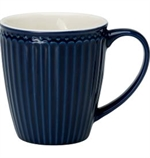 GreenGate / Alice Dark Blue / mug