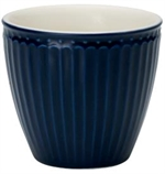 GreenGate / Alice Dark Blue / Latte Cup