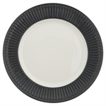 GreenGate / Alice Dark Grey / Dinner Plate