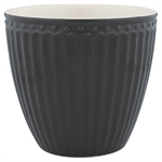 GreenGate / Alice Dark Grey / Latte Cup