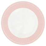 Alice pale pink plate fra GreenGate - Tinashjem