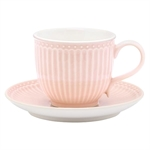 GreenGate / Alice Pale Pink / cup with saucer