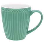 GreenGate Alice Dusty Green mug  - Tinashjem