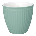 Latte Cup Alice Dusty Mint fra GreenGate - Tinashjem