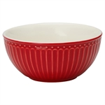 GreenGate / Alice Red / Cereal bowl 14 cm