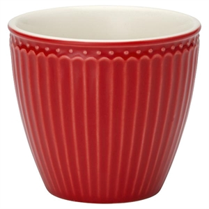 GreenGate / Alice Red / Latte Cup