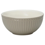 GreenGate / Alice Warm Grey / Cereal bowl 14 cm