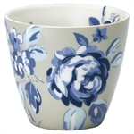 GreenGate / Amanda Dark Blue / Latte Cup