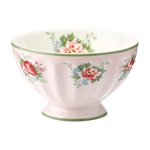 Aurelia Pale Pink french bowl medium 10 cm fra GreenGate - Tinashjem