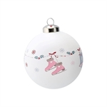 Ball glass Jingle Bell White fra GreenGate - Tinashjem