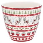 GreenGate / Bambi White / Latte Cup