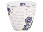 Beatrice white latte cup fra GreenGate - Tinashjem