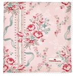Betty Pale pink napkin with lace fra GreenGate - Tinashjem