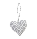 GreenGate / Decoration Heart / Bianca Warm Grey