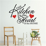 Wallsticker / Kitchen Heart