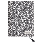 Blossom Grey / Tea Towel / with rope string
