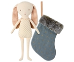 Bunny angel in stocking blue fra Maileg - Tinashjem