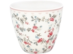 Carly White latte cup fra GreenGate - Tinashjem