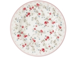 Carly White plate small 15 cm fra GreenGate - Tinashjem