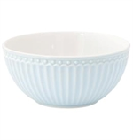 GreenGate / Alice Pale Blue  / Cereal bowl 14 cm
