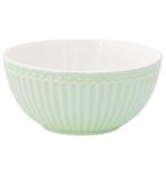 GreenGate / Alice Pale Green  / Cereal bowl 14 cm