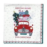 Christmas car napkin small fra GreenGate - Tinashjem