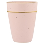 Cup pale pink with gold rim fra GreenGate - Tinashjem