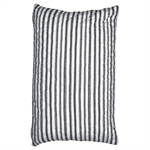 GreenGate / Amanda Cushion / Dark grey stripe