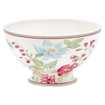 GreenGate / Donna white / soup bowl 15 cm