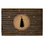 GreenGate / Doormat / gold with xmas tree