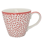 GreenGate / Dot White / mug
