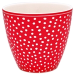 GreenGate / Dot Red / Latte Cup