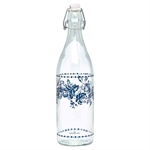 GreenGate / Bottle Fleur / blue