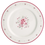 GreenGate / Flora White / Dinner Plate