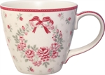 GreenGate / Flora White / mug