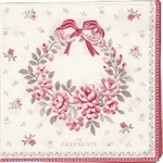 GreenGate / Flora White / servietter small