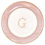 GreenGate / G Pale Pink / plate small 15 cm