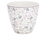 Ginny White latte cup fra GreenGate - Tinashjem