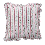 Gloria White cushion med frynser fra GreenGate - Tinashjem