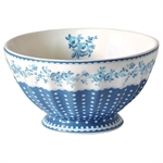 GreenGate / Audrey Indigo / French bowl 13,5 cm