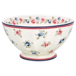 Hailey white french bowl XL fra GreenGate - Tinashjem