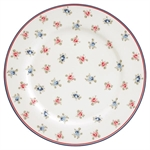 Hailey white dinner plate fra GreenGate - Tinashjem