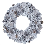 Wreath Hailey White large fra GreenGate - Tinashjem
