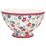 GreenGate / Helena White / French Bowl / 10 cm Medium