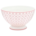 Helle Pale Pink french bowl medium 10 cm fra GreenGate - Tinashjem