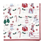 Jingle Bell white servietter small fra GreenGate - Tinashjem